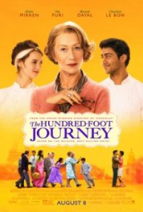 The Hundred-Foot Journey movie poster.