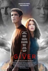 The Giver movie poster.