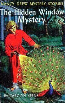 Nancy Drew: The Hidden Window Mystery book cover.