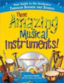 Those Amazing Musical Instruments book cover.