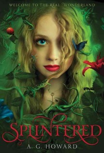 Splintered book cover.