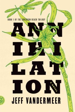 Annihilation book cover.