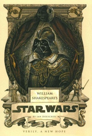 William Shakespeare's Star Wars book cover.