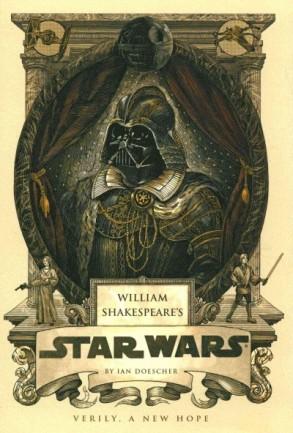 William Shakespeare's Star Wars book cover.
