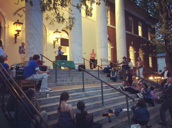 poetry on the steps 2016