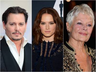 johnny-depp-daisy-ridley-judi-dench
