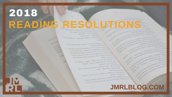 Reading Resolutions - Blog Post Header