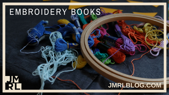 Embroidery Books - Blog Post Header