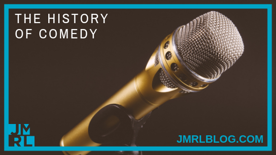 History of Comedy - Blog Post Header