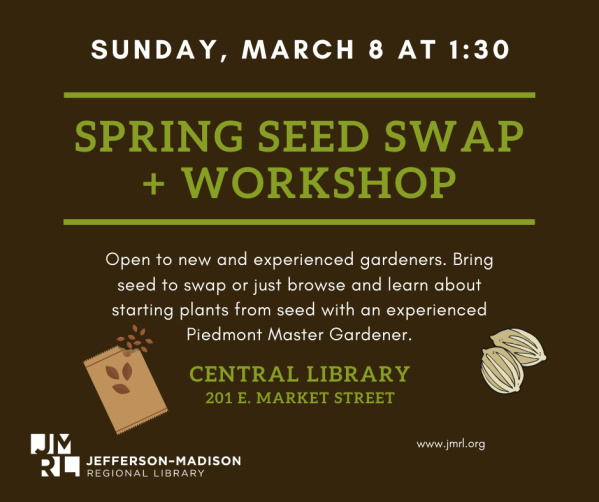Facebook Central Spring Seed Swap